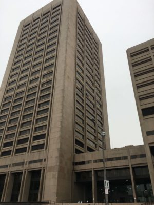 Courts Tower of the Justice Center